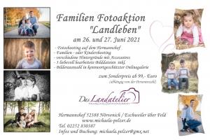 Fotoaktion Familienfotografie